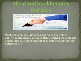Accounting services in Baltimore