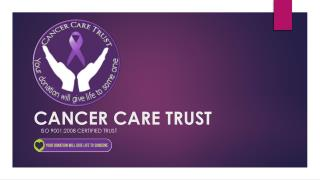 Welcome To Cancer Care Trust