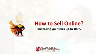 How to sell product online thought own ecommerce store?