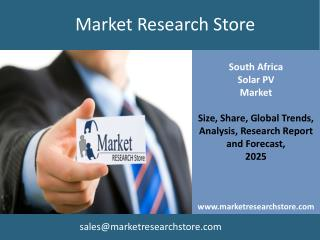 Solar PV in South Africa Market Outlook 2025 - Capacity, Lev