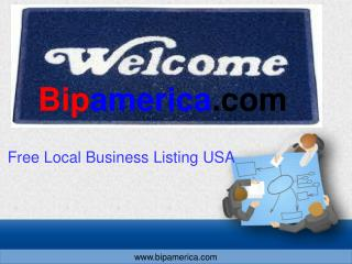 Free Local Business Listing usa