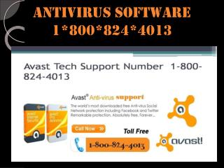 antivirus software 1-800-824-4013 USA CANADA