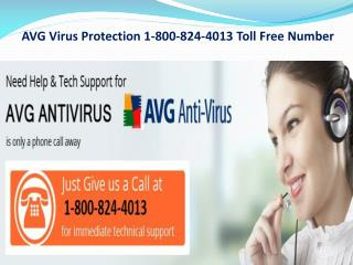 AVG Virus Protection 1-800-824-4013 Toll Free Number