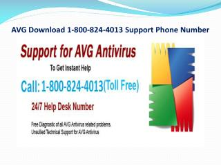 AVG Download 1-800-824-4013 Support Phone Number