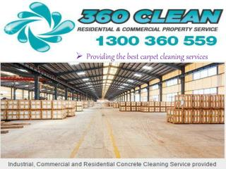 Carpet Cleaning in Sunshine Coast - 360Clean