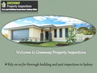 Pre Purchase Building Inspections in Sydney - Greenway