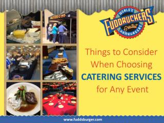 Tips to Choose Catering Service in Albuquerque