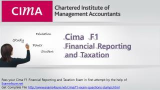 CIma F1 Study Guide