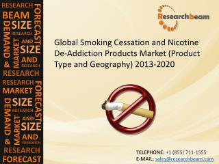 Global Smoking Cessation and Nicotine De-Addiction Products