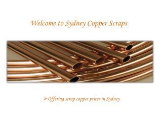 scrap copper prices australia - Sydney copper scraps