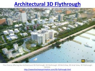 Architectural 3D Flythrough