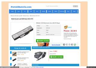 A32-k72 4400mAh 10.80 V Asus Batterie
