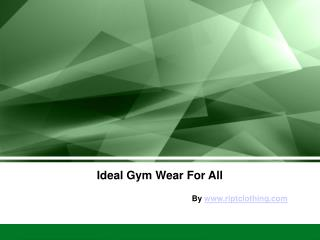 Branded Gym Wear