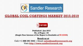Global Coil Coatings Market Growth to 2019 Forecasts and Ana