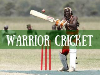 Warrior Cricket