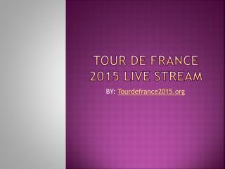 Tour de France 2015 Live