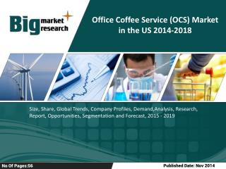 Key Trends Of Office Coffee Service (OCS) Market in the US
