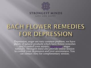 Bach Flower Remedies for Depression