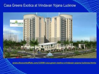 Apartments at Casa Green Exotica Vrindavan Yojana Lucknow