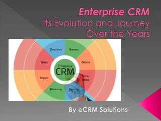 Enterprise CRM Its Evolution and Journey Over the Years