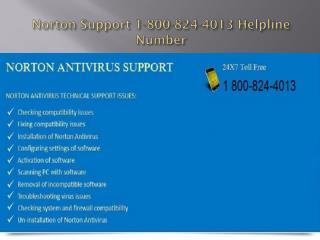 Norton Support 1-800-824-4013 Helpline Number | Tech | Toll