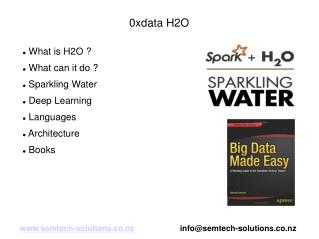An introduction to 0xData H2O