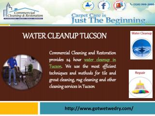 Water Cleanup Tucson