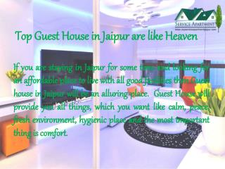 Top Guest House in Jaipur are like Heaven