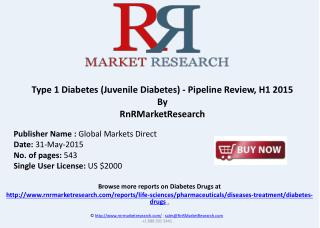 Juvenile Diabetes Therapeutic Pipeline Review, H1 2015