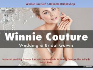 Bridal Shop Winnie Couture