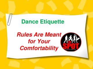 Know Dance Etiquette to Grow Your Dancing Skills