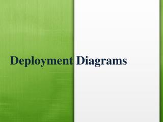Deployment Diagram Assignment Help