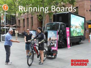 Running Boards: Taking your business message to the prospect