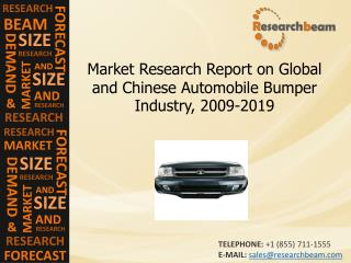 Global Automobile Bumper Industry Size, Share, 2009-2019