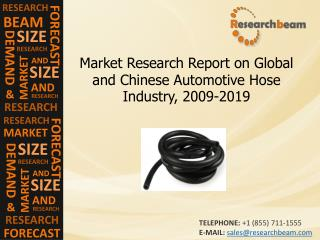 Chinese Automotive Hose Industry Size, Growth, 2009-2019