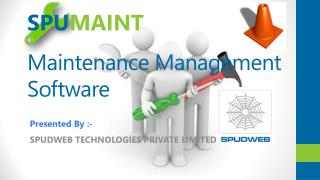 Maintenance Management Software-SPUMAINT