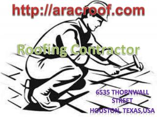 Roofing Contractor, Houston TX