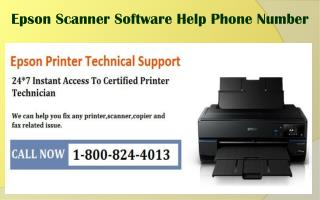 1-800-824-4013 Epson Scanner Software Help Phone Number