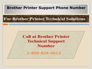 1-800-824-4013 Brother Printer Support Phone Number