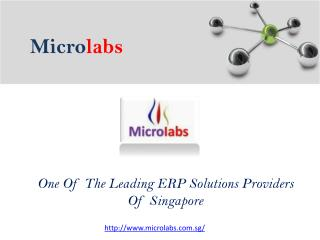 ERP Solutions Providers