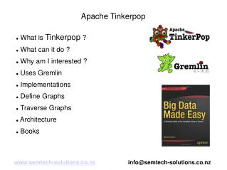 An introduction to Apache Tinkerpop