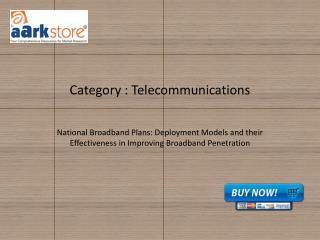 National Broadband Plans