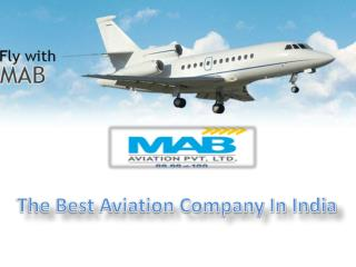 Air Charter Services In India - Mab Aviation