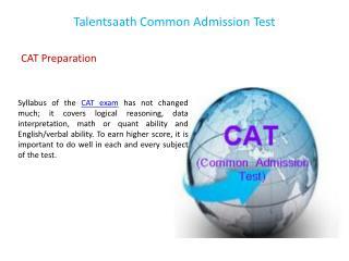 Talentsaath Common Admission Test