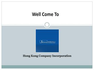 Hong Kong Company Incorporation