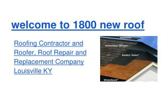 Roofer Louisville KY, Roofing Louisville KY