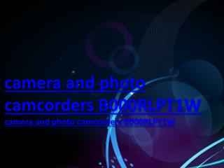camera and photo camcorders B000RLPT1W