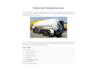 Safety and Training Services