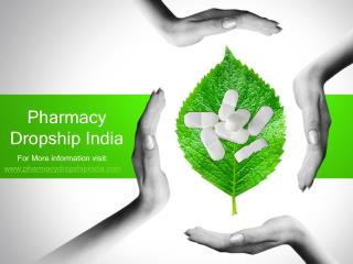 Pharmacy Dropship India
