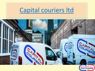 Courier Services in London